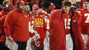 Kansas City Chiefs coach Andy Reid and quarterback Patrick Mahomes will be hoping to put a stop to the Titans' shock postseason run