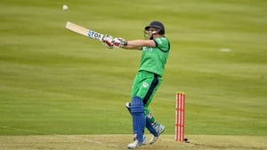 Kevin O'Brien hit a six off the final ball for an Ireland win