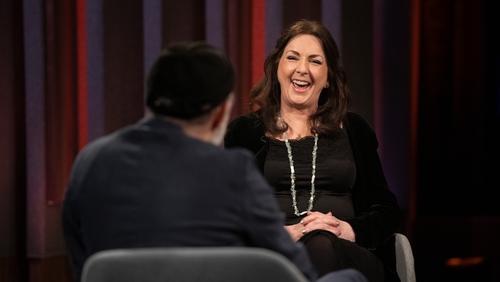 Moya Brennan was a guest on last night's Tommy Tiernan Show