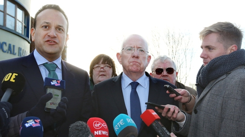 Taoiseach Leo Varadkar and Minister Charlie Flanagan travelled to Drogheda (RollingNews.ie)