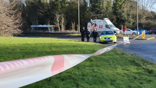 Raods have been sealed off near the scene of the killing