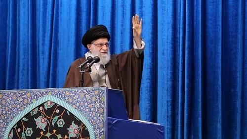 The Twitter post carried a link to Ayatollah Ali Khamenei's website