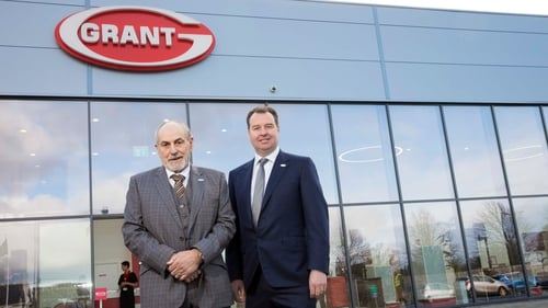 Stephen Grant, founder of Grant Engineering, and Niall Fay, Grant Director