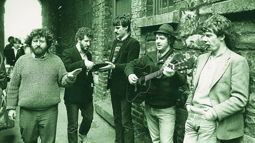 Stockton's Wing in Dublin's Merchant's Arch way back when Photo: Universal Music/Twitter