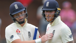 Ollie Pope and Ben Stokes shared a stand of 203