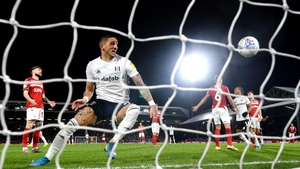 Knockaert claimed his fourth goal of the season as the Cottagers overcame the absence of 18-goal leading scorer Aleksandar Mitrovic to move within four points of second-placed Leeds