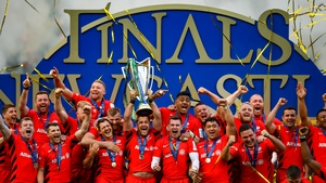Reigning European champions Saracens will begin next season in the second tier of English rugby