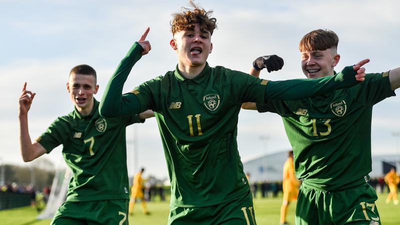 Ireland U15s beat older Aussie side at Abbotstown