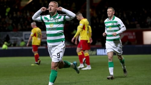 Leigh Griffith opened the scoring for Celtic in the 12th minute