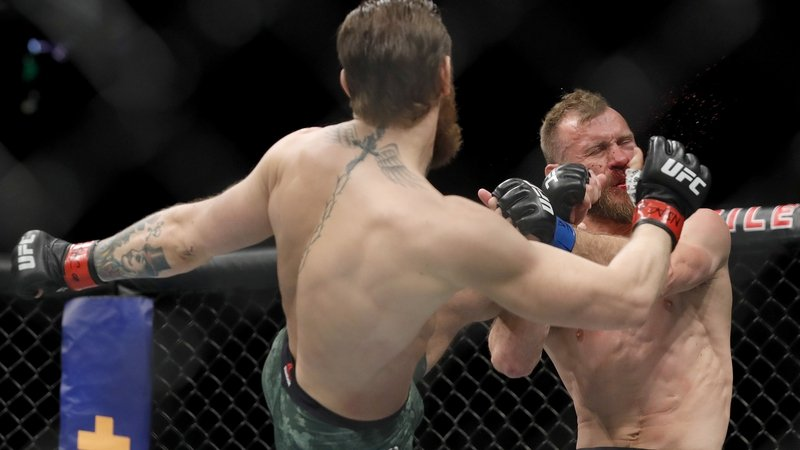 Gone in 40 seconds - Cowboy no match for McGregor