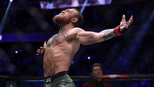 McGregor won in the first round