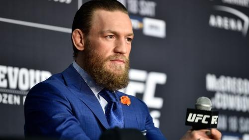 Conor McGregor had denied 'any accusation of bad behaviour'