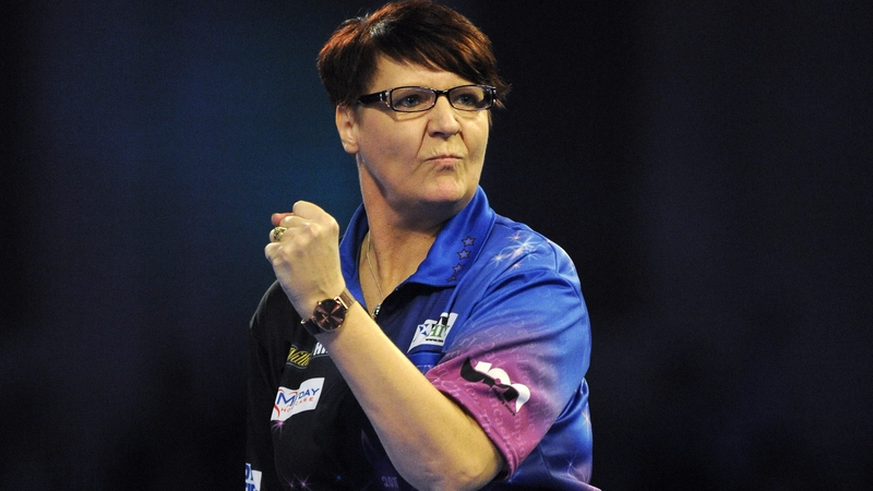 Lisa Ashton makes PDC history with Q School success