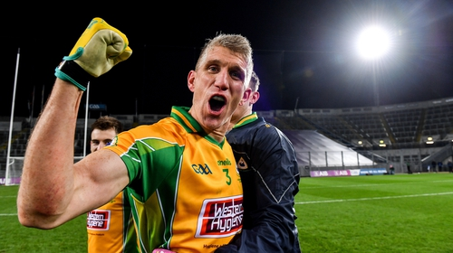 Kieran Fitzgerald was one of five Corofin players named on the XV