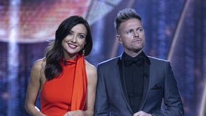 Jennifer Zamparelli and Nicky Byrne.