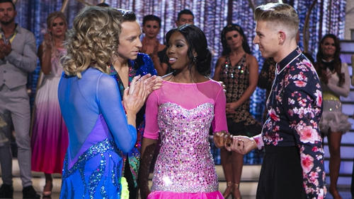 Yewande Biala and Stephen Vincent sent home from Dancing with the Stars