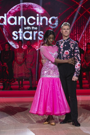 Yewande Biala and Stephen Vincent are the first couple to be sent home from this series of Dancing with the Stars