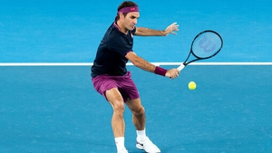 Roger Federer was his usual impressive self