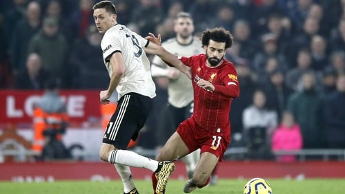 Nemanja Matic is taking positives from his side's defeat at Anfield