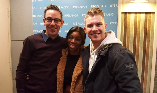Yewande Biala and Stephen Vincent - Dancing with the Stars