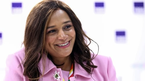 Isabel dos Santos pictured at the Russia-Africa Economic Forum last year