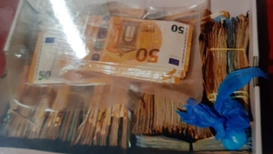 Cash and cocaine were seized in searches in Galway