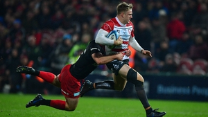 Gloucester's Ollie Thorley is one of the new faces in the squad