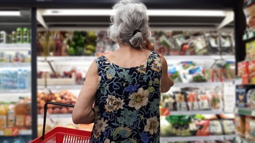 """""""Analysis found that the average availability of a healthy food basket for elderly rural dwellers is 79.1%, rising to 86.7% for urban dwellers"""" Photo: Getty Images"""