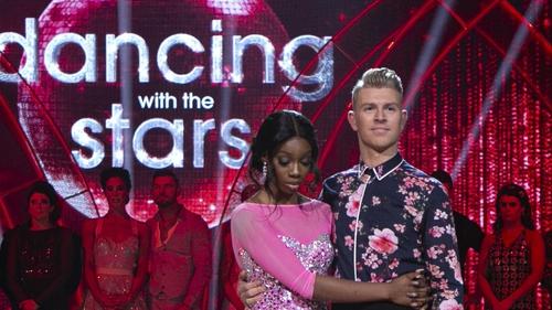Love Island starYewande Biala and her pro-dance partner Stephen Vincent