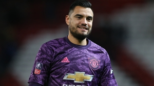 Sergio Romero walked away from the crash and trained as normal with his team-mates after the incident.
