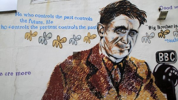 A mural of George Orwell in Southwold, Suffolk. Photo: Geography Photos/Universal Images Group via Getty Images