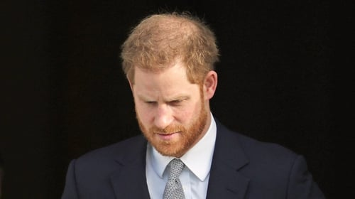 Prince Harry said he had 'no other option' but to give up his official royal duties