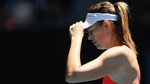 Ongoing shoulder problems limited Sharapova to a handful of tournaments last year and her ranking is projected to drop to world number 366 as a result of the first-round loss