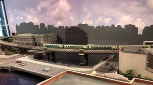 Extra features including lighting and automatic signalling will be added to the scenes over time