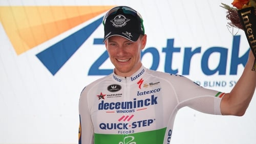 Sam Bennett has won the first stage of the Tour Down Under