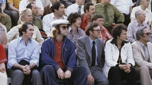 The spectator: Elton John in Russia in 1979 at a public event during his tour of the Soviet bloc