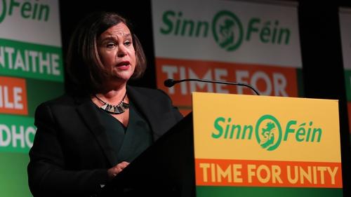 Leag Sinn Féin amach réimse polasaithe inniu.