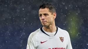 Javier Hernandez's most recent spell was at Sevilla in La Liga