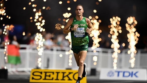 Stephen Scullion is preparing for Tokyo after a eventful time in his life