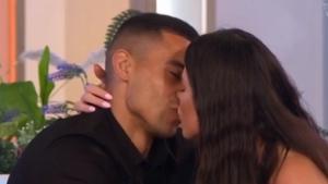 Rebecca locks lip with Connagh