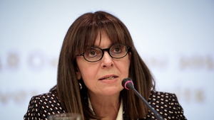 Ekaterini Sakellaropoulou was the first woman to head Greece's Council of State in 2018