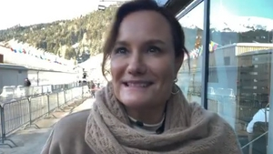 Gillian Tans, chairwoman of Booking.com, is attending Davos 202