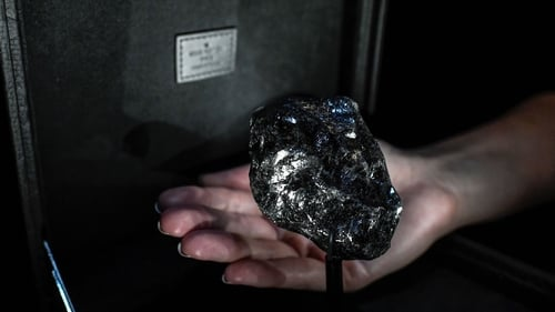 The Sewelô is the second-largest rough diamond in the world. Photo: Getty