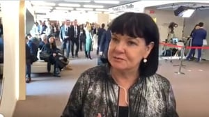 Sharon Burrow, from the International Trade Union Confederation, says Davos gives it a chance to meet with heads of state