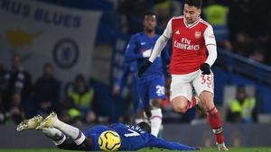 Gabriel Martinelli impressed for Arsenal
