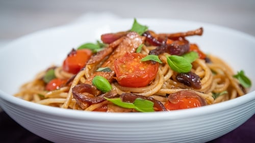 This pasta dish could be made in advance and left to cool and put in the fridge within 2 hours of cooking for up to 3 days in an airtight container.