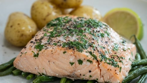 Make the salmon parcels up to 1 day in advance and keep on the bottom shelf of the fridge until ready to cook.