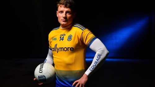 Conor Cox pictured at the launch of the Allianz Football League