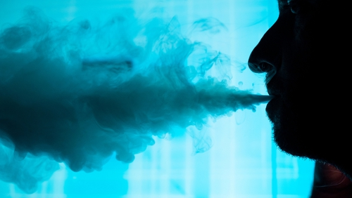 The WHO said vaping devices 'are particularly risky when used by adolescents'