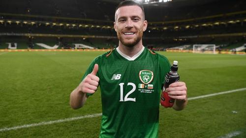 Jack Byrne has two Ireland caps
